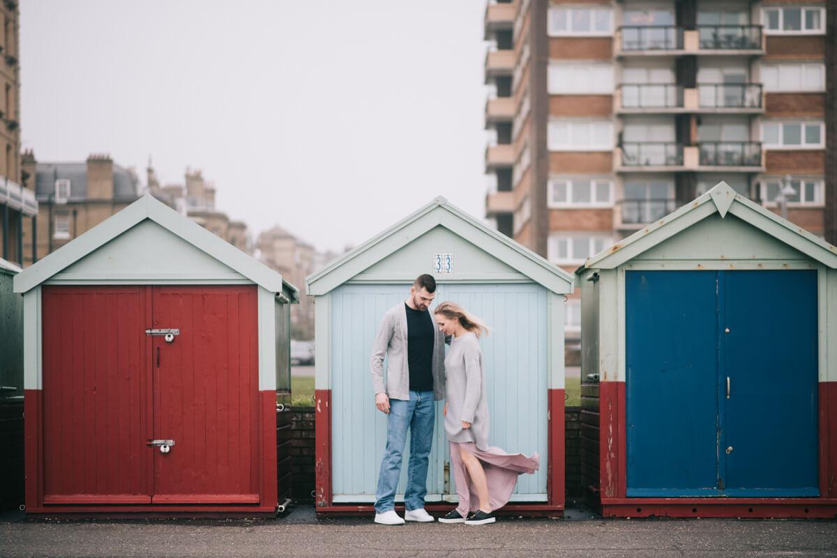 Preboda en Brighton - Brighton engagement - Nira y Alberto